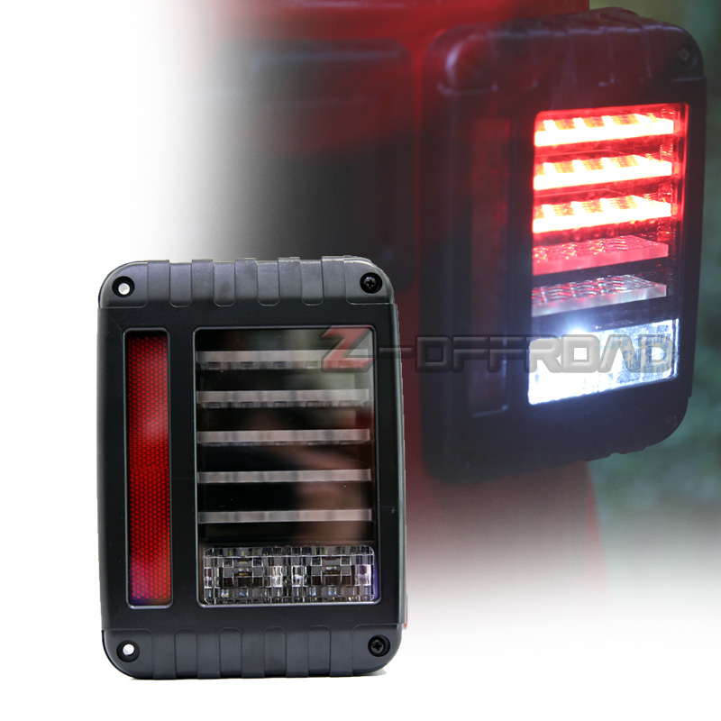Offroad Tail Lights With Running Light Reserve Brake Turn