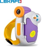 LBKAFA 1 5 Inch Color Display Mini Children Kids Camera 5 Megapixel High Definition Network Camera