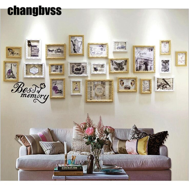 Miraculous Us 152 67 30 Off 22 Pcs Set Modern Carved Wood Photo Frame Home Decor Creative Wall Decoration Hanging Picture Holder Frames Moldura Marco Foto In Download Free Architecture Designs Scobabritishbridgeorg