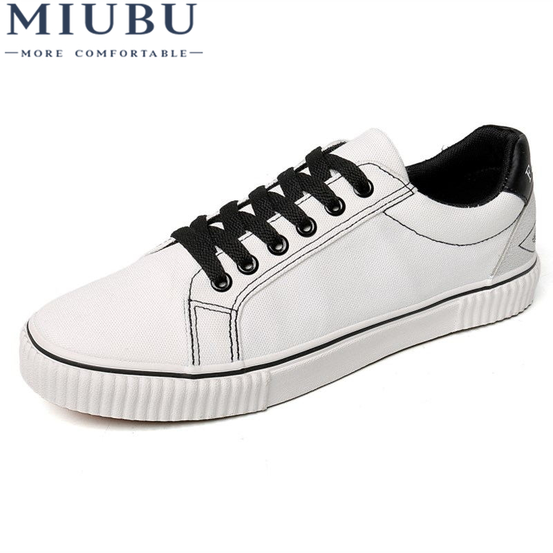 MIUBU Men Canvas Shoes 2019 New Summer Breathable Hemp Mesh Sneakers Fashion Flat