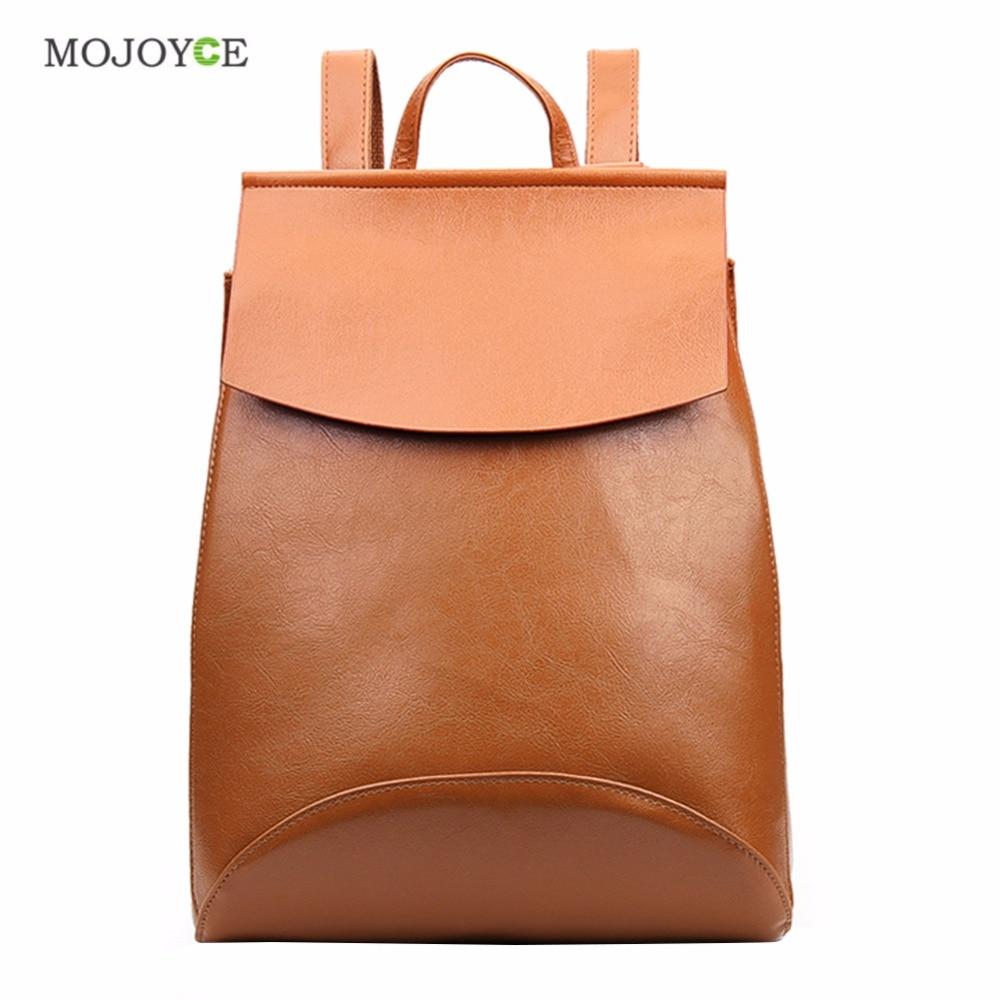 2018 Fashion Women Backpack PU Leather Backpacks for Teenage Girls High Quality Backpacks Female School Shoulder Bags Mochila
