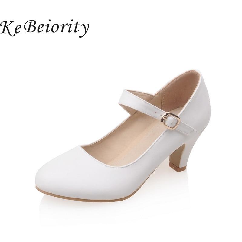 KEBEIORITY Fashion Women Pumps