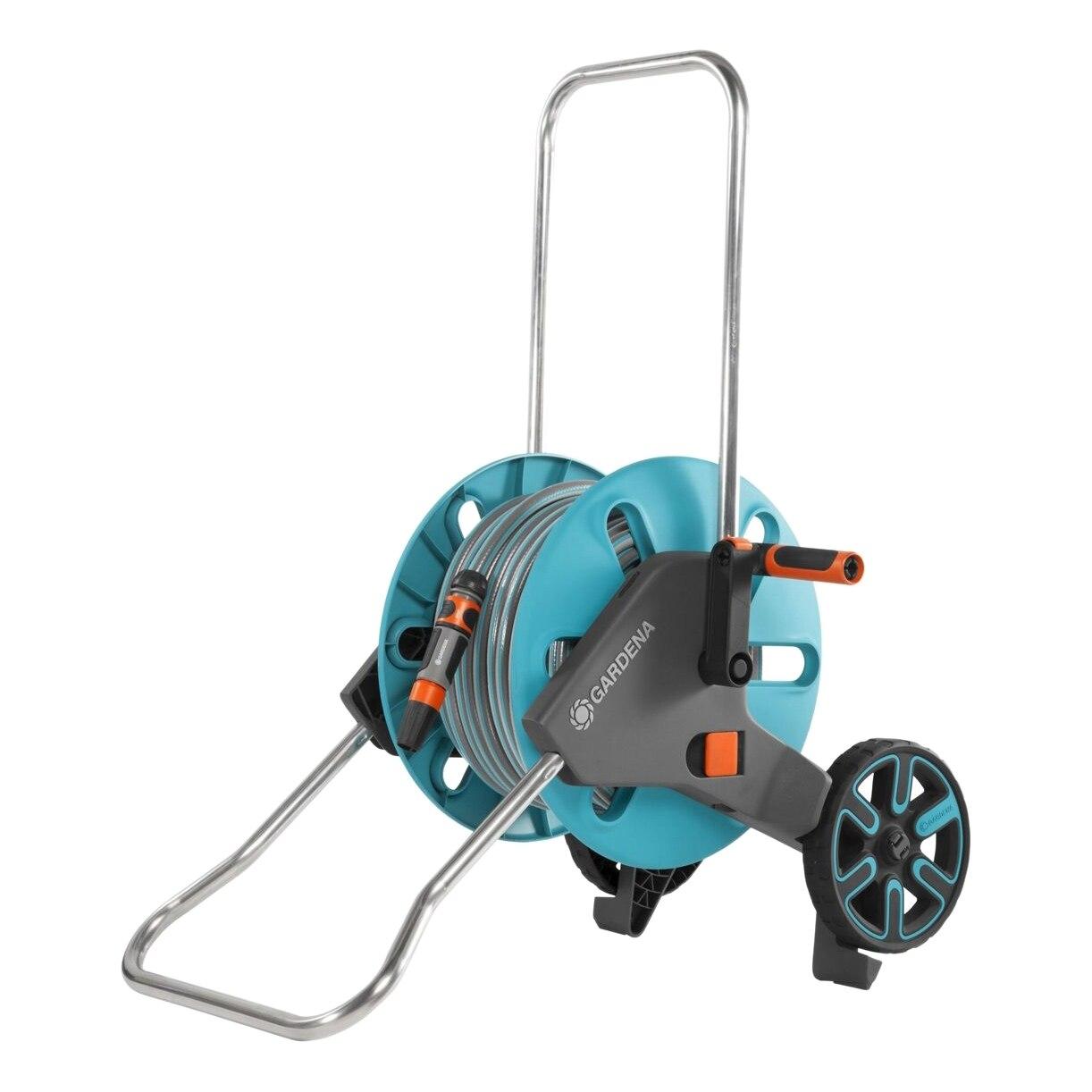 Set поливочный GARDENA 18512-20.000.00 (Protection from frost, adjustable height handle Kick & Stand function) стоимость