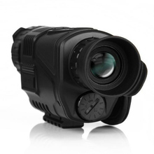 JAWEKE 5MP 5×40 Digital Night Vision Monocular 200m Range for Hunting Take Photos Video IR Infrared Scope 4GB SD Card+Battery