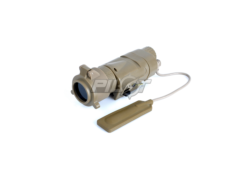 ELEMENT  L-3 Warrior Systems M3X Tactical Illuminator Long Version (Tan) FREE SHIPPING (ePacket/HongKong Post Air Mail)