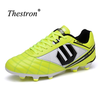 Thestron Mens Shoes Soccer Cleats Hot Sale Soccer Shoes Kids Long Spikes Soccer Football Shoes For