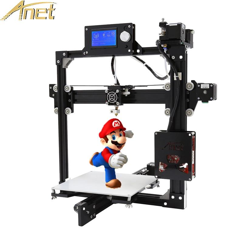 Original Anet A2 Full Metal Frame Reprap Prusa i3 DIY 3d Printer 12864LCD 8GB TF card