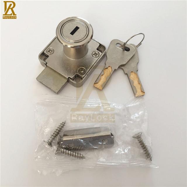 Raylock pack of furniture lock type snake key wooden