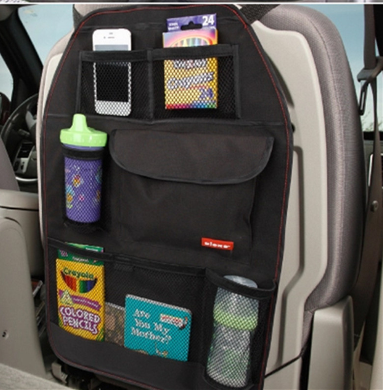 Auto Sitz Tasche Lagerung Multi Tasche Organizer Auto Sitz Zurück Tasche Auto Zubehör