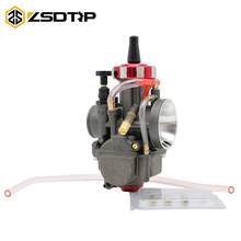 ZSDTRP Universal New Carburetor Motorcycle 28 30 32 34mm PWK Carburador For Scooter GY6 ATV 50cc 110cc 250cc 400cc