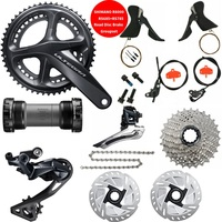 Shimano Ultegra R8000 11 Speed Groupset ST RS685+BR RS78 Road Disc Brake Groupset