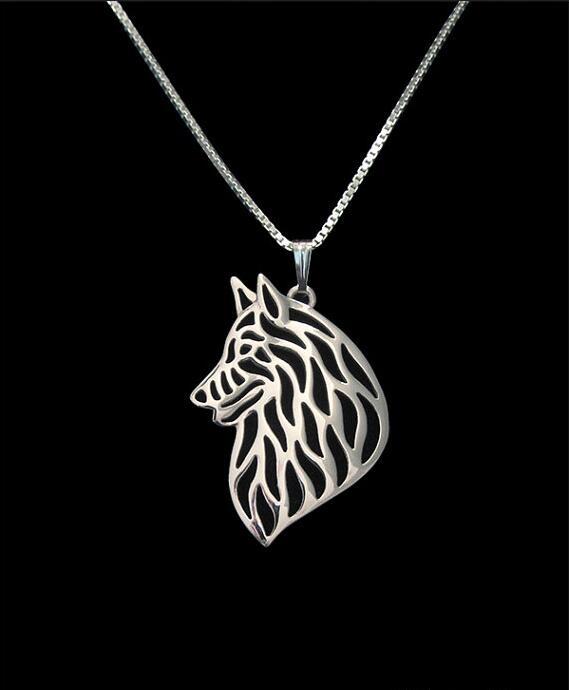 Unikátní ruční Boho Chic Groenendael přívěsek náhrdelník žena / muž dárek šperky náhrdelník - 12ks / Lot (6 barev zdarma výběr)