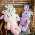 C-1pcs 75 * 27cm WEGO rabbit doll, cute bunny pillow sofa, children bed Decoration, Gifts for girls