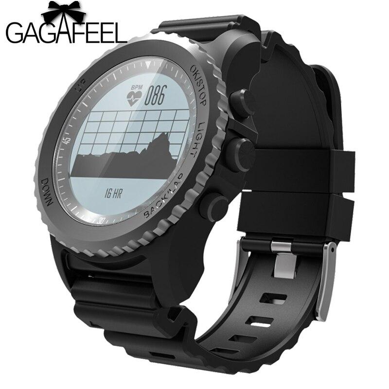 GAGAFEE S968 Smart Watch IP68 Waterproof Support Air Pressure GPS Heart Rate Monitor Smart Bracelet Fitness Tracker Wristband