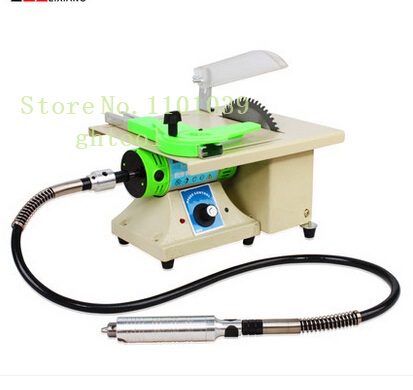 Hot Sale Trim Saw Machine Jewelry Polishing Machine Mini Bench Lathe with 2pcs 6 Baldes and 1 Polishing Wheels jewelery toolsHot Sale Trim Saw Machine Jewelry Polishing Machine Mini Bench Lathe with 2pcs 6 Baldes and 1 Polishing Wheels jewelery tools
