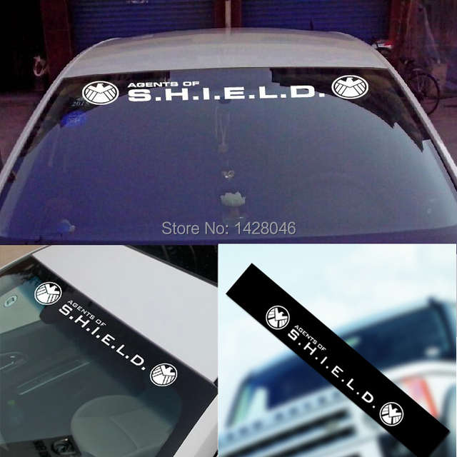 Free shiping fbi shield car sticker glass reflective logo black white all color usa police