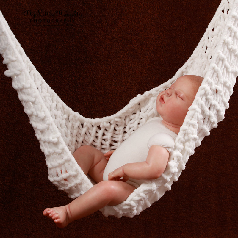new arrival crochet baby hammock photography props knitted newborn infant costume toddler photo props high quality in bouncersjumpers  u0026 swings from mother     new arrival crochet baby hammock photography props knitted newborn      rh   aliexpress