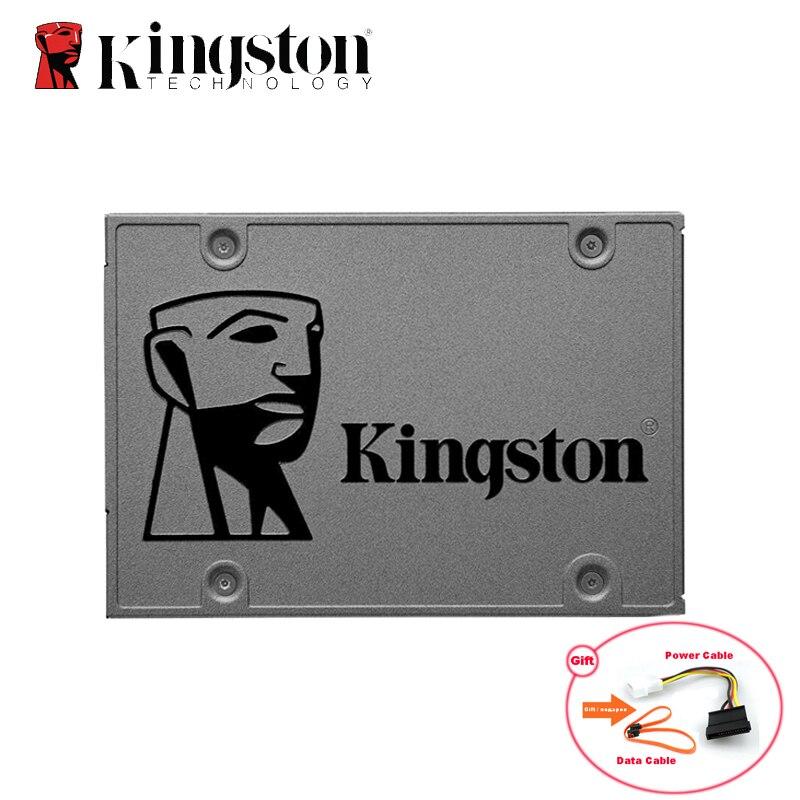 Kingston alta qualidade hd ssd hdd disco rígido 120 gb sata 3 60 gb 240 gb 480 gb 960 gb 1 tb hhd 2.5 disk disco para a promoção do caderno