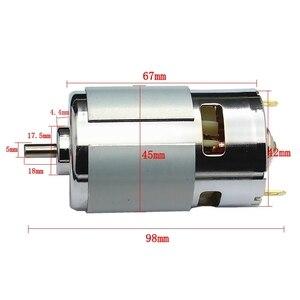 Image 4 - 送料無料 1 個 775 高トルクマイクロ Dc モーター DC12 24V 288 ワットビッグパワー高速モータ