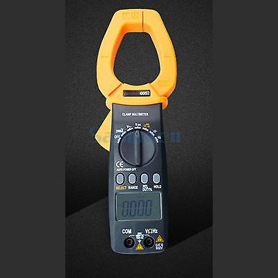 2000A VC6052 Digital Clamp Meter AC/DC Volt Resistance Capacitance Freq Tester Multimeter Auto Range my68 handheld auto range digital multimeter dmm w capacitance frequency