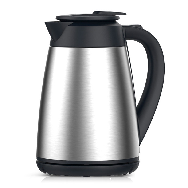 Vacuum insulated electric kettle for 304 stainless steel double-layer proof hot insulated double layer proof electric kettle anti dumping stainless steel kettles overheat protection