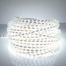 светодиодная лента SMD 5050 AC 220 В Светодиодные ленты белый открытый Водонепроницаемый 220 В 5050 220 В диодная LED лента светодиодная 220 В SMD 5050 светодиодная лента свет 5 м 10 м 20 м 25 м 220 В подсветка