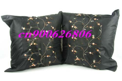 50pcs machine embroidery colourful brocade Cushion Cover home soft furnishings pillow soft bag pocket History: Feedbacks .