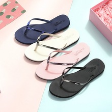 купить Slippers Women Flip Flop Women Summer Fashion Shoes Women Flat Slippers Outside Indoor Non-Slip Soft по цене 642.84 рублей