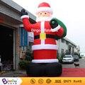 Открытый рождественские украшения надувной санта-клаус 20ft высокий (6 м высокий) завод прямые продажи BG-A1188 игрушки