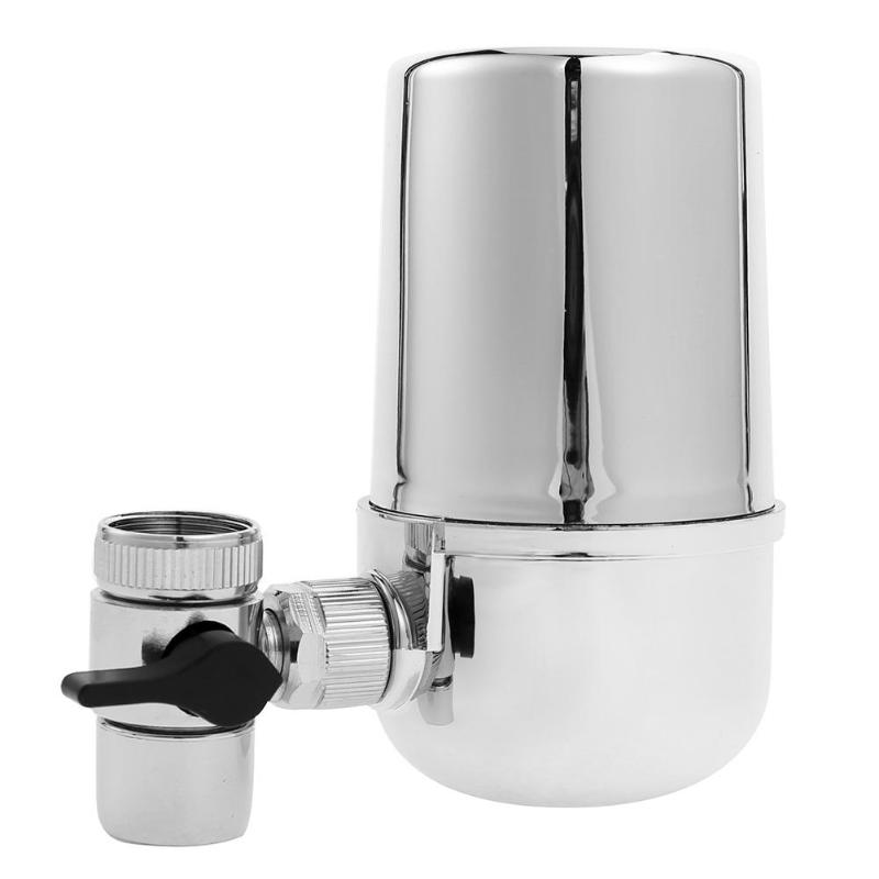 Alloet Tap Faucets Water Filter Household Water Purifier Washable Ceramic Filter Mini Water Filter Cartridge Purification kitchen faucets tap water filter household water purifier washable ceramic percolator mini water purification