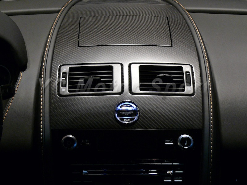 Dry Carbon Fiber Interior Trim Fit For 2006 2015 Aston