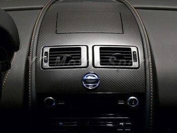 Dry Carbon Fiber Interior Trim Fit For 2006-2015 Aston Martin V8 V12 Vantage&S Manual Transmission MT Dashboard Surround Panel