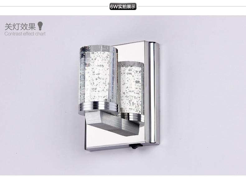 A single crystal single-head  of high-end LED stainless steel bedroom corridors bathroom wall lamp massey ferguson repair manuals uk 2017