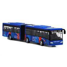 Mini Model Baby Pull Back Cars Alloy Vehicles City Express Bus Double Buses Diecast Vehicles Toys for Children Funny Games Gifts(China)