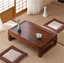 Japanese Tatami Floor Coffee Tables Tea Tables Home Living Room Furniture Wood Window Table Indoor Japan Chess Desk(China)