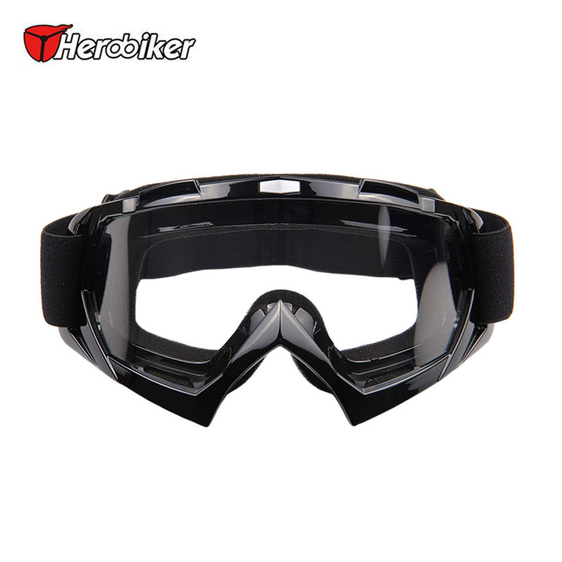 HEROBIKER Ski Snowboardglasögon UV-skydd Motorcykel Ridglasögon Motocross Off-Road Dirt Bike Downhill Racing Eyewear