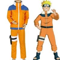 Calssic Anime Cosplay Naruto children Cosplay Costumes juvenile Uzumaki Naruto kids European size Free Shipping