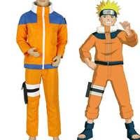 Calssic Anime Cosplay Naruto kinder Cosplay Kostüme juvenile Uzumaki Naruto kinder Europäische größe Freies Verschiffen