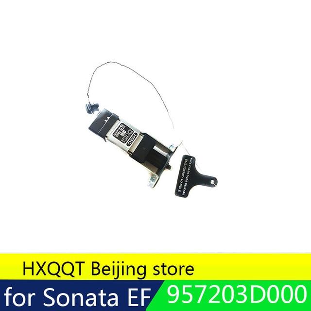 for Opener Assy Fuel Filler Door 957203D000 For Hyundai Sonata EF