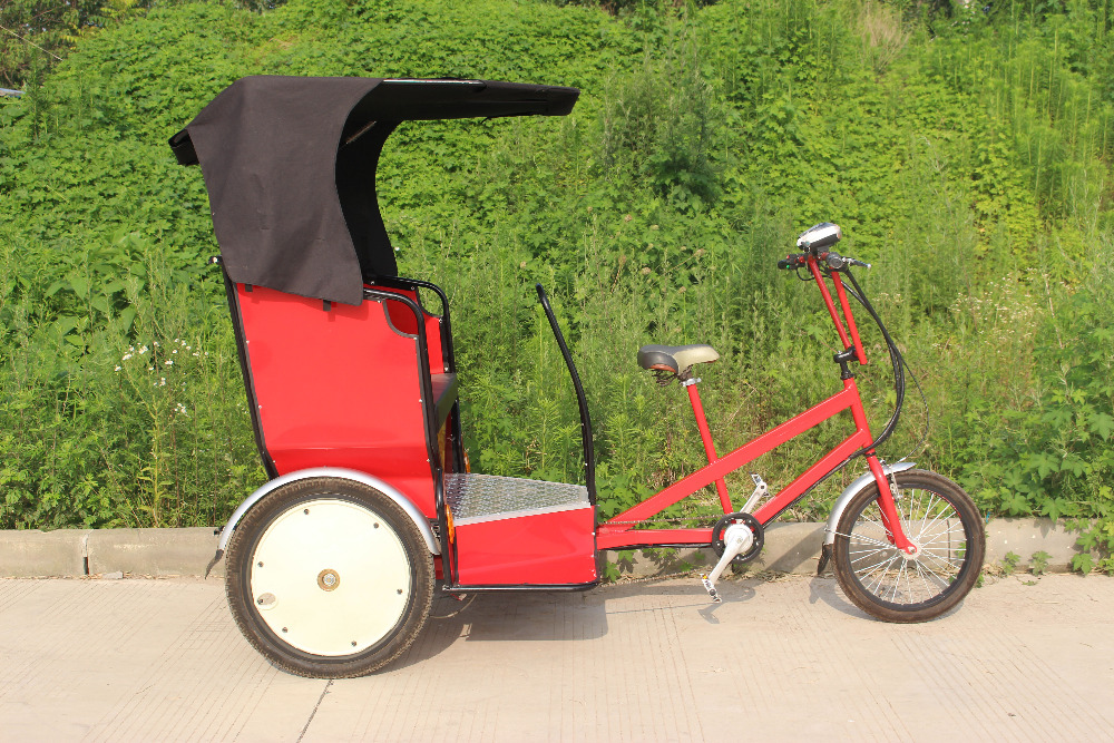 Multi Function Used For Transport Passengers Coffee Bike Cart Electric Rickshaw Pedicab For Sale