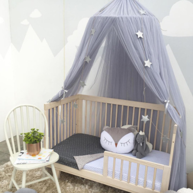 Baby Bed Canopy Mosquito Net Bed Curtain Baby Crib Netting ...