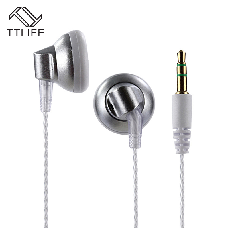 TTLIFE Wired Sports Earphones K5 HiFi Stereo Headphone Music In-ear Original Headset Without Mic for Android Phone Xiaomi Mp3 original headset ttlife wired sports earphones gpk3 hifi stereo headphone music in ear with mic for android phone xiaomi mp3