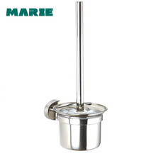 Free shipping New modern bathroom accessories wall mounted stainless steel bathroom toilet brush holder цена