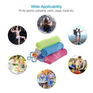 Image 5 - 2019 nowy gorący Sport lukier zimny ręcznik quicky dry natychmiastowy chłodny chłodzenie ręcznik siłownia ćwiczenia ręcznik ławka dla mężczyzn kobiety