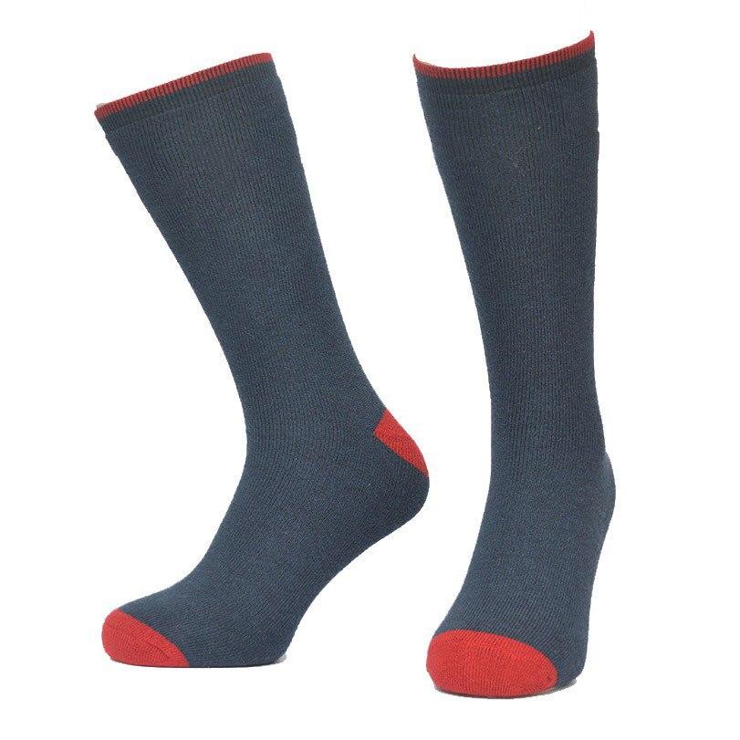 Носки Для мужчин большой Размеры носок зима теплая шерсть носки с подогревом, сноуборд Лыжный Спорт Thermo Носки Спорт на открытом воздухе Пеш...