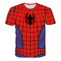 Fashion Summer Super Hero T shirt Men Cool Casual Style Short Sleeve O-neck t-shirts Personalized Super man Spiderman Tee shirts