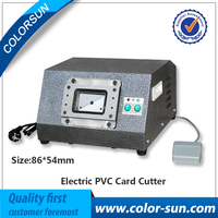 Automatic Elctronic Dirve Cut Card Cutter To Cut PVC ID Business Loyalty Card In High Speed