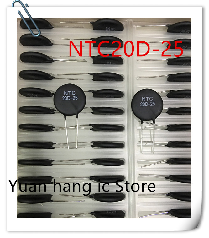 10pcs/lot NTC 20D-25 NTC20D-25 NTC 20D25 20 R The New Original Diameter 25 Mm
