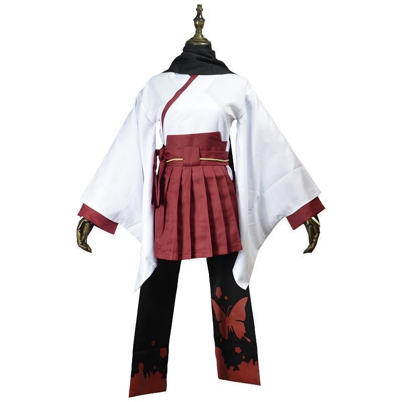 6e45f7cd1eb Аниме-ину х Boku SS Shirakiin Ririchiyo Атавистическая форма Косплэй  Хэллоуин Детский костюм для вечеринок платье полный комплект