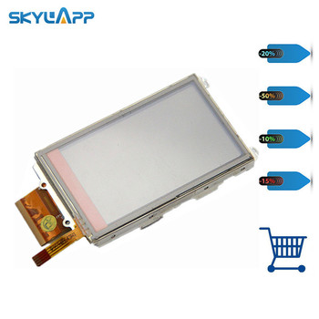 Skylarpu LCD screen panel for garmin oregon 300 450T 450 400 400T 550T 200 display panel Free shipping